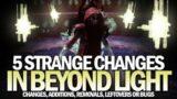 5 Strange Changes in Beyond Light [Destiny 2]