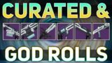 ALL Raid Weapons (Curated & God Rolls)   Destiny 2 Beyond Light