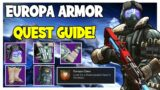 ALL STASIS SEALED CHEST LOCATIONS! Europa Armor Quest Guide   Destiny 2 Beyond Light