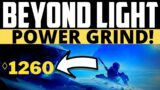 Destiny 2 – BEYOND LIGHT GRIND STREAM! Deep Stone Crypt Soon! Grind to 1260 Continues!