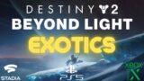 Destiny 2: Beyond Light – Exotics Trailer (4K60FPS)