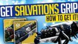 Destiny 2 | How To Get SALVATION'S GRIP! Exotic Grenade Launcher! – Beyond Light