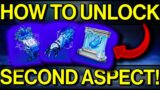 Destiny 2: How to Get A SECOND ASPECT | Frostpulse, Tectonic Harvest, Winter's Shroud (Beyond Light)