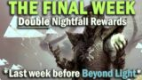 Destiny 2 – Season of Arrivals Final Week – Double Nightfall Rewards – Beyond Light Launches Soon