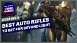 Destiny 2 – The BEST Auto Rifles to get for Beyond Light