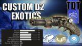 More New Beyond Light Exotics | Fan-Made Concepts #02 | Destiny 2 Exotic Reworks & Ideas