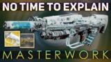 No Time to Explain MASTERWORK (Portal Buddy + Arc Buddies) | Destiny 2 Beyond Light
