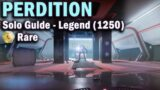Perdition – Legend Lost Sector –  Solo Guide – 1250 Power – Destiny 2 Beyond Light