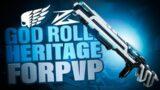 Raid Slug Shotgun GOD ROLL – Heritage – Destiny 2 Beyond Light