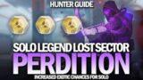 Solo Legend Lost Sector Perdition (Hunter Guide) [Destiny 2 Beyond Light]
