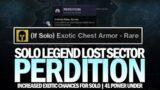 Solo Legend Lost Sector Perdition (Warlock Guide – 41 Power Under) [Destiny 2 Beyond Light]