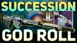 Succession GOD ROLL (Best PVE Sniper?) | Destiny 2 Beyond Light