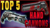 TOP 5 Hand Cannons for Beyond Light PvP – These Are Going to be META | Destiny 2 Beyond Light