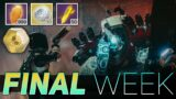 The Final WEEK (Double LOOT Lake of Shadows NIGHTFALL) | Destiny 2 Beyond Light