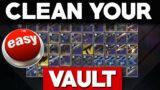 Tips to CLEAN Your VAULT, EZPZ Mode (Destiny 2 Beyond Light Prep)