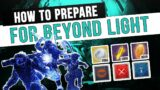 What You Need Before Beyond Light : Beyond Light Preparation Guide | Destiny 2