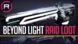Destiny 2 Beyond Light Raid Loot