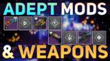 ALL Adept Mods, Perks, & Weapons so far (BREAKDOWN) | Destiny 2 Beyond Light