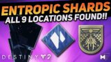 All Entropic Shard Locations Guide FAST & EASY | Destiny 2: Beyond Light | Aspect of Control & Seal