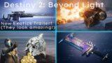 Beyond Light NEW Exotics REVEALED! [Destiny 2 Trailer]