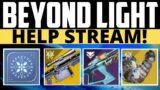 Destiny 2 – CHRISTMAS STREAM! I Love You All! Beyond Light Stream!