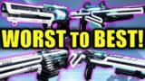 Destiny 2: WORST to BEST Deep Stone Crypt Raid Weapons! | Beyond Light