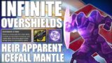 Icefall Mantle/Heir Apparent could give Infinite Overshields!? – DESTINY 2 BEYOND LIGHT