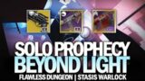 Solo Flawless Prophecy Dungeon in Beyond Light (Stasis Warlock) [Destiny 2]
