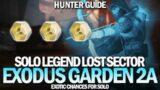 Solo Legend Lost Sector Exodus Garden 2A (Hunter Guide) [Destiny 2 Beyond Light]