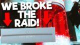WE GLITCHED THE RAID!   Destiny 2 Beyond Light Deep Stone Crypt