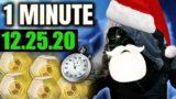Xur in 1 MINUTE – (12.25.20) Good Xmas Loot! [Destiny 2 Beyond Light]