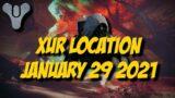 Destiny 2 Beyond Light – Xur 13.0 Location – January 29 2021