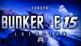 Bunker E15 – Europa Lost Sector (Destiny 2 Beyond Light)