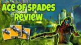 Destiny 2 Beyond Light Ace of spades Exotic Review