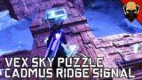 Destiny 2 Beyond Light: Cadmus Ridge Signal Sky Puzzle [Riss-Reborn Key Codes]