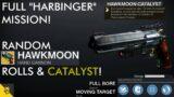 "Destiny 2: Beyond Light – Full New ""Harbinger"" Mission!   Random Rolls for Hawkmoon & Catalyst Drop!"