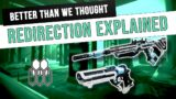 How Redirection ACTUALLY works | Destiny 2 Beyond Light