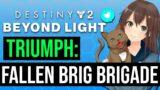 How To Get The Fallen Brig Brigade Triumph | Destiny 2 Beyond Light