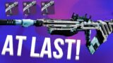 I FINALLY GOT A TRUSTEE! (It's Amazing) Destiny 2 Beyond Light