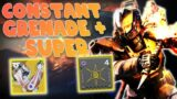 RIDICULOUS SUPER RECHARGE RATE! Solar Titan Build in Destiny 2 Beyond Light