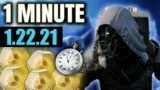 "Xur in 1 MINUTE – (1.22.21) ""WTF XUR?"" Edition [Destiny 2 Beyond Light]"