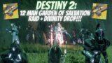 12 MAN GARDEN OF SALVATION RAID!!!   Destiny 2 Beyond Light Season Of The Chosen   #Shorts