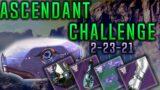 ASCENDANT CHALLENGE 2-23-21 GUIDE (DESTINY 2 BEYOND LIGHT)