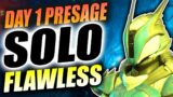 "DAY 1 SOLO FLAWLESS ""PRESAGE"" MISSION!   Destiny 2 Beyond Light   Season Of The Chosen"