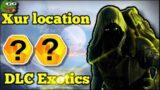 Destiny 2 beyond light Xur location DLC EXOTICS February 5th
