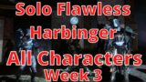 (PS5) Destiny 2: Beyond Light Solo flawless Harbinger (Week 3) All three characters