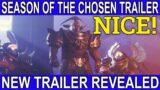 Season Of The Chosen Trailer revealed (Destiny 2 Beyond Light) Season 13