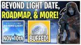 Beyond Light DLC Delay, Updated Roadmap, & Grandmaster Loot Buffed!   Destiny 2 Season of Arrivals