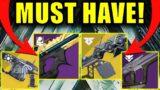 Destiny 2: The BEST Linear Fusion Rifles for Season 14!   NEW META!