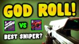 Destiny 2 | The New IRON BANNER SNIPER Is AMAZING! Occluded Finality GOD ROLLS & Weapon Breakdown